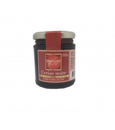 Confiture 220 g Cerise Noire