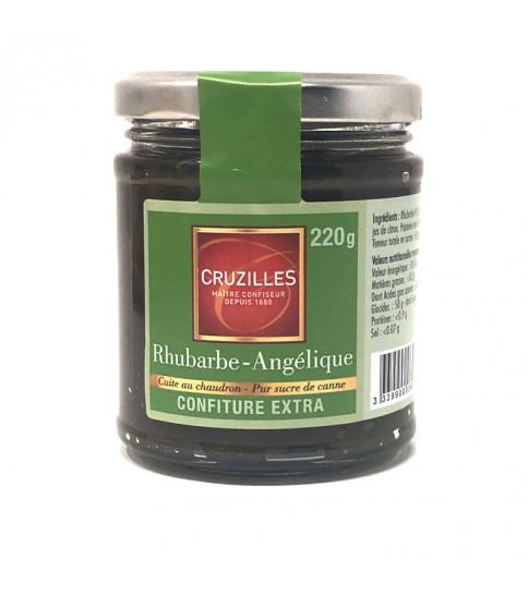 Confiture 370g Rhubarbe - Angélique