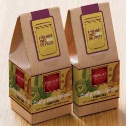 Cubes saveur Poire