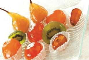 Le fruit confit se travaille avec passion - Confiserie Cruzilles